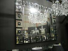 Modern-Large New Stunning Crystal Glass Mirror bevelled wall Mirror. save$$$