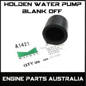 Holden Commodore V8 253 308 Water Pump Block Blank Off HQ HZ VB VC VH VK