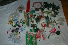 christmas crafts ornaments wires bells lights tree centerpiece candy cane 4lbs