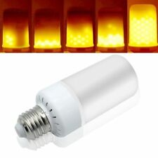 100pcs /lot DHL shipping  E27 LED Burning Light Flicker Flame Lamp