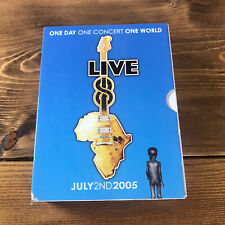 Live Aid July 2nd 2005 Dvd Box Set Complete