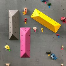 3-Pack Long Triangle Textured Climbing Volume Collection
