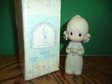 ENESCO PRECIOUS MOMENTS JUNIOR BRIDESMAID  FIGURINE E2548 in Original Box