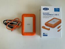 Lacie stfs 2000800 externos disco duro portátiles Rugged Thunderbolt USB-C 2 TB,