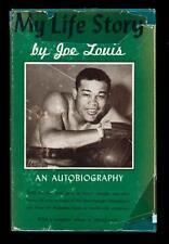 My Life Story Boxing Heavyweight Champion Joe Louis Signed Autobiography Book!