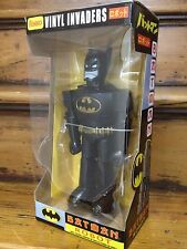 "Funko 2012 sdcc vinyle invaders batman costume noir 11"" robot figure * brand new *"