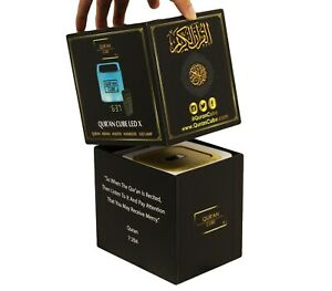 Quran Cube LED X with remote control- 31 Recitations Adhan, Muslim Gifts
