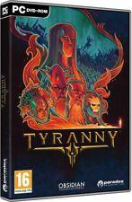 TYRANNY PC DVD STEAM NEW SEALED PAL UK ENGLISH