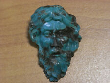 Cameo ~(Turquoise) ~45mm*31mm.*(ec1332) Beauty Hand Carving