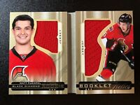 2015-16 Matt Puempel Black Diamond Rookie Booklet Relics Jerseys /299
