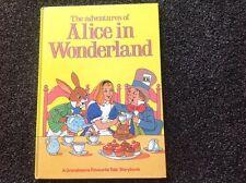 Grandreams Adventures of Alice in Wonderland vintage 1985 hardcover illustrated