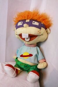 Large Vintage NICKELODEN RUGRATS, CHUCKY, 1998, soft body, collectable. TV.