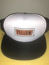 VINTAGE YELLOW FREIGHT SYSTEMS SNAPBACK TRUCKER HAT DOPE