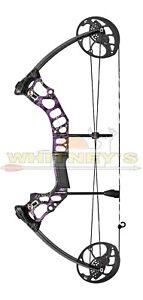 "Mission by Mathews Hammr Right Hand Purple Splash DW 16-70 lbs DL 17-29"""