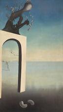 Stampa incorniciata-SALVADOR DALI Visioni dell'eternità (Pittura Foto Poster Art)