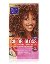 Dark and Lovely color-gloss ultra radiant color creme, 05G Golden Brown