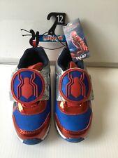 Spider-Man light up boys shoes brand new . Marvel size 12