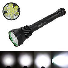 Trustfire 15000Lm 12x CREE XML T6 LED Tactical Flashlight Torch 18650/26650 Lamp