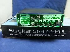 Stryker SR-655HPC Amateur Radio AM/FM 10 Meter Amateur RADIO PRO TUNED & ALIGNED