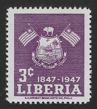 Liberia 1947 The 100th Anniversary of Independence 3c (DX4)