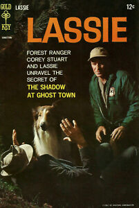 Lassie #68 Gold Key Comics 1967 The Shadow at Ghost Town vintage comic book