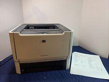 HP P2015d LaserJet Printer Compact Monochrome 1200 dpi w/USB Toner Tray CB368A