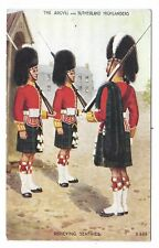 The Argyil and Sutherland Highlanders