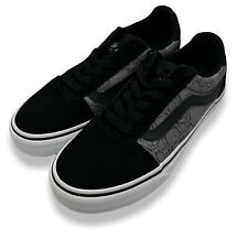 Vans Womens Black VN0A3TLA3GH Ward Deluxe Athletic Sneaker Shoes Size US 7.5 W