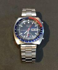 VINTAGE 1970s SEIKO 6139-6001 Pepsi Pogue Automatic Chronograph Sports Watch
