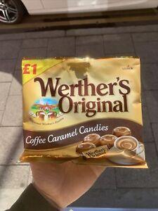 Werthers Original Coffee Caramel Candies Full Case 12 Bags 110g Each