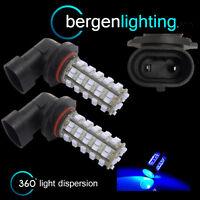 2X HB4 9006 BLUE 60 LED FRONT HEADLIGHT HEADLAMP LIGHT BULBS KIT XENON HL500901