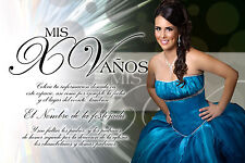 PSD Photoshop Template for Quinceaneras & Sweet 16 Invitations Vol. 6