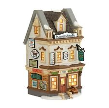 """Department 56 ~ New England Village """"Plainfield Sign Co."""" ~ Retired ~ Mib"""
