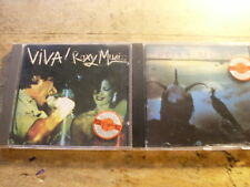 Roxy Music [2 CD ALBUM] VIVA! + Avalon