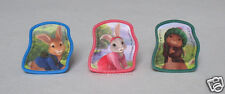 12 Peter Rabbit Cup Cake Rings Topper Kid Party Goody Bag Filler Favor Supp