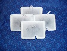 4 pack - Aqueon MINI BOW 1, 2.5, & 5 - Size SMALL S filter cartridges by Ginger