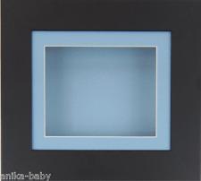 PEQUEÑO NEGRO PROFUNDO Caja MARCO FOTOS MEDALLAS 3d 2d OBJETOS Arte