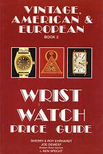 & European Edition Price Guide Roy Ehrhardt Book 2 WristWatch American