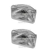 Volvo 242 245 264 760 Set of 2 Sealed Beam Headlight OEM OSRAM-SYLVANIA 1321919