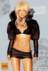 Britney Spears Greatest Hits My Prerogative * PAL * FREE TRACKED POSTAGE