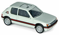 NOREV JETCAR  PEUGEOT 205 GTI white  1986 CAR MODEL 471713 1:43