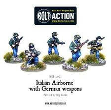 Bolt Action WWII Italian Airborne with German weapons metal Warlord Games