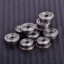 10x F623ZZ Metal Flange Ball Bearing Shielded Deep Groove 3D Printer 3x10x4mm