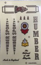 Humber Bicycle Stickers