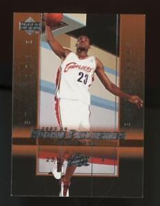 2003 Upper Deck Rookie Exclusives Lebron James RC Rookie
