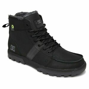 DC SHOES SKATE WOODLAND SHERPA-LINED WINTER BOOT ADYB700033 ABL MENS RRP £85