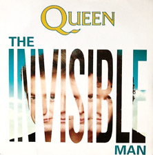 "QUEEN ‎- The Invisible Man (7"") (VG-/VG)"