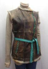 Damenjacken & -mäntel mit Pelz für Winter V-Ausschnitt