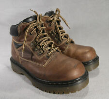 GUC Dr Martens DM's 8697 Brown Leather Slip Resist Work/Chef Boots UK sz 6 ANB
