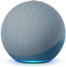Amazon Echo Сумеречный синий 4-е поколение премиум звуком умный дом концентратор Алекса